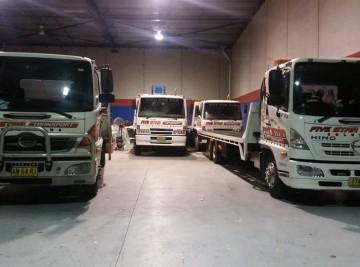 fivestartransport-trucks-asleep